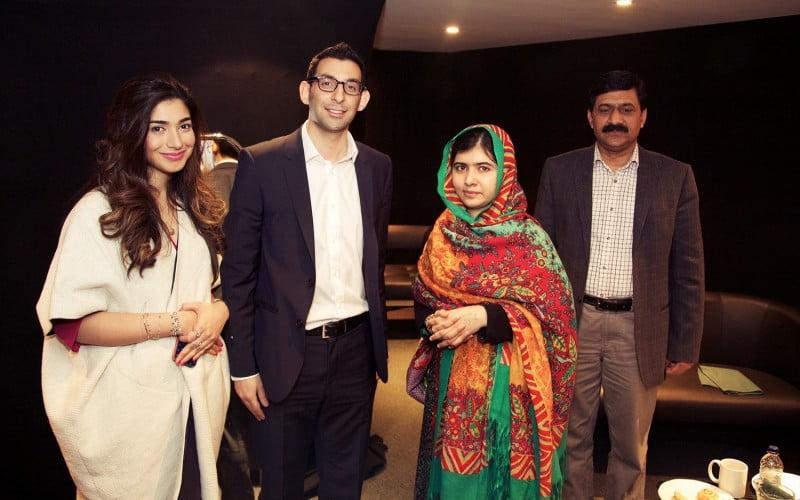 Simon verjee & Malala