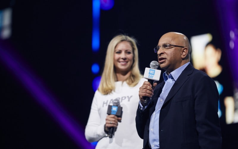 Lord Rumi Verjee, WE Day UK, 2016