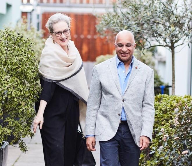 Rumi Verjee & Meryl Streep