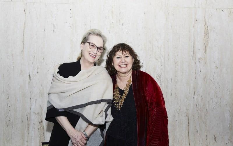 Leslie Udwin & Meryl Streep