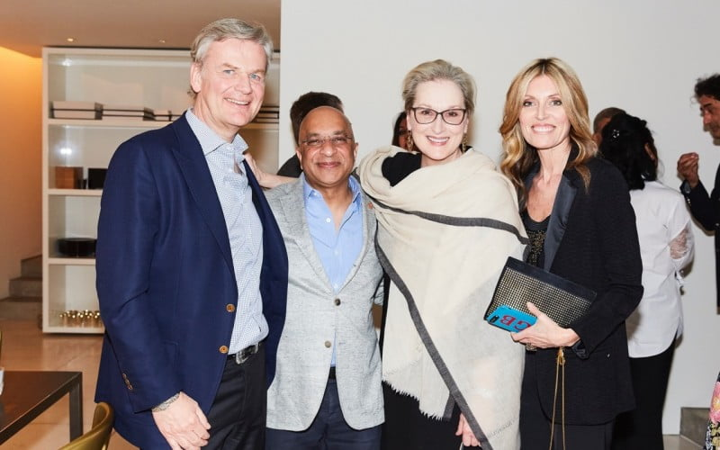 Think Equal Dinner with Meryl Streep, Rumi Verjee and India's daughter director Leslee Udwin