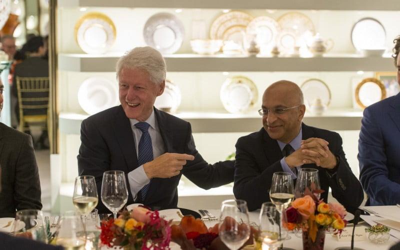 Clinton Foundation Dinner