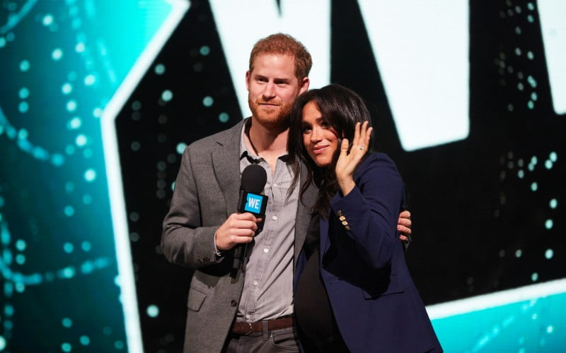 WE Day, Duke and Duchess of Sussex